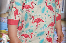 Makerist - Flamingoshirt - 1