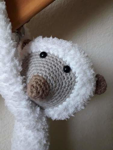 Makerist - Stuffed-toy - Arthur the lemur - crochet – tutorial - Crochet Showcase - 2