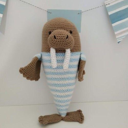 Makerist - Amigurumi - peluche - Momo le morse - crochet – tutoriel - Créations de crochet - 1