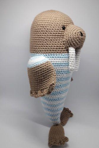Makerist - Amigurumi - peluche - Momo le morse - crochet – tutoriel - Créations de crochet - 2
