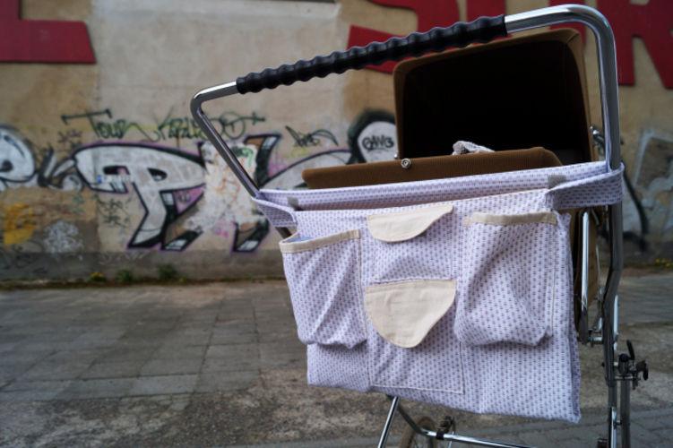 Makerist - Upcycling: Kinderwagenorganizer inkl. Einkaufstasche aus alter Bettwäsche - DIY-Projekte - 1