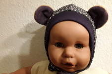Makerist - Bärenohrenmütze aus Jersey und Nicki fürs Benäh-Kind - 1