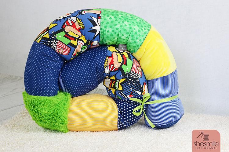 Makerist - Bettschlange Bettie für mein Patenkind - Nähprojekte - 1