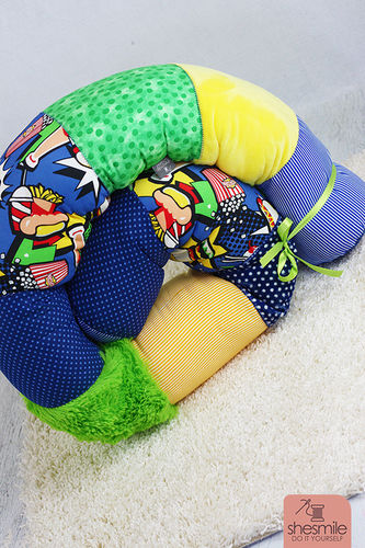 Makerist - Bettschlange Bettie für mein Patenkind - Nähprojekte - 3