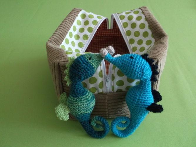 Makerist - Jack...the little seahorse - Häkelprojekte - 1