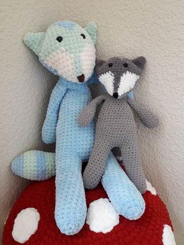Makerist - Amigurumi /peluche - Lou le raton laveur - crochet – tutoriel - Créations de crochet - 2