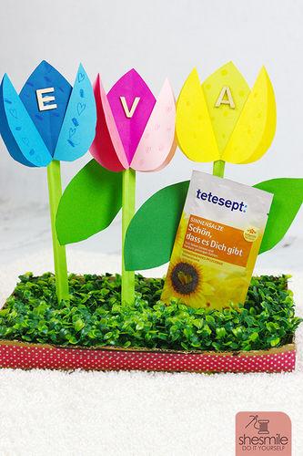 Makerist - Papier-Tulpen zum Geburtstag - DIY-Projekte - 1