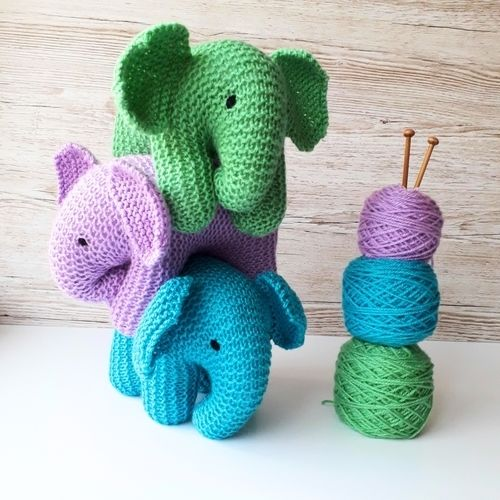 Makerist - Baby Elephant - Knitting Showcase - 1