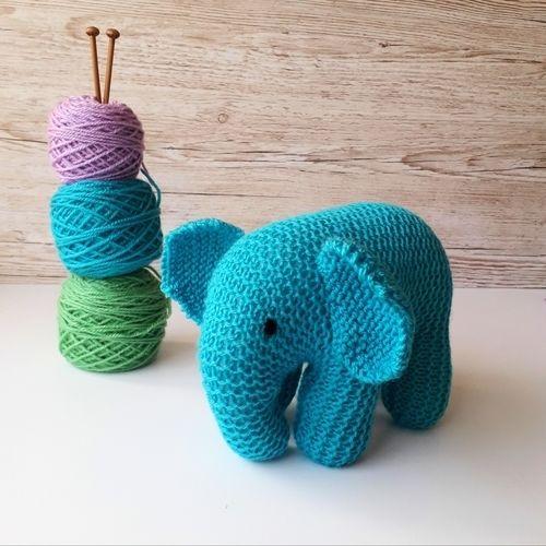 Makerist - Baby Elephant - Knitting Showcase - 2