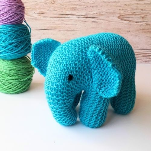 Makerist - Baby Elephant - Knitting Showcase - 3