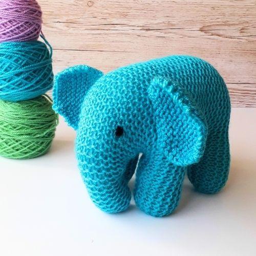 Makerist - Baby Elephant - Knitting Showcase - 3