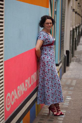 Makerist - Kleid Imke mit Ärmeln - Nähprojekte - 3