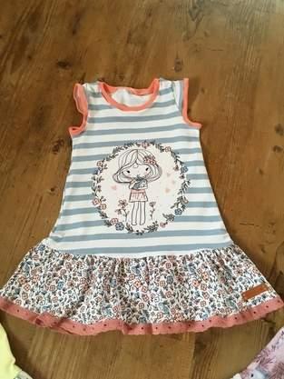 Trägerkleid von klimperklein aus Jersey für Mädchen