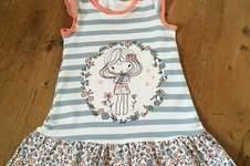 Makerist - Trägerkleid von klimperklein aus Jersey für Mädchen  - 1
