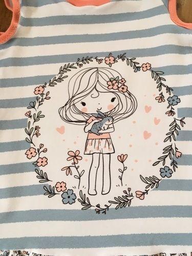 Makerist - Trägerkleid von klimperklein aus Jersey für Mädchen  - Nähprojekte - 2