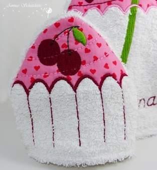 Makerist - Cupcake Waschlappen  - 1
