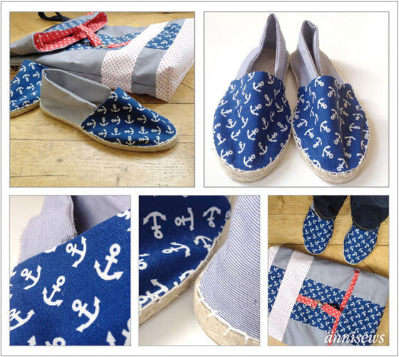 Makerist - Espandrilles passend zur neuen Tasche - Nähprojekte - 1