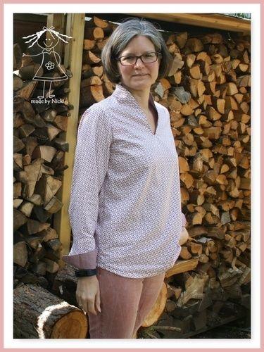 Makerist - Flora-Bluse von Lillesol & Pelle - Nähprojekte - 1