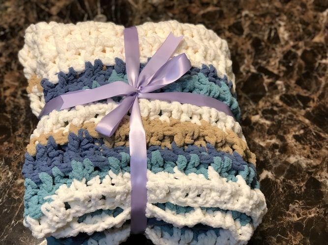 Makerist - Waffle stitch beach theme  - Crochet Showcase - 1