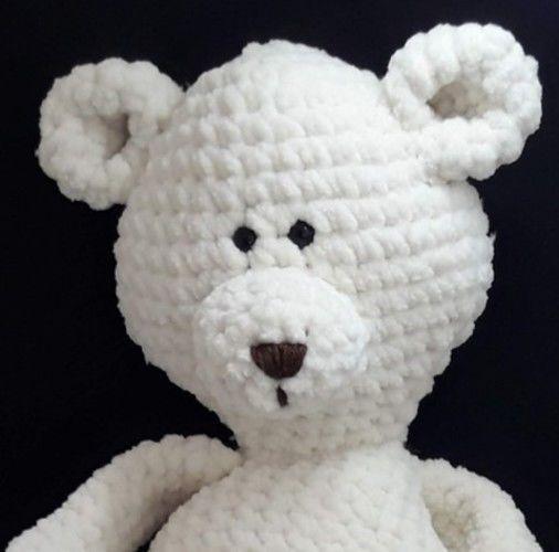 Makerist - Amigurumi Petit ours crème - Créations de crochet - 2