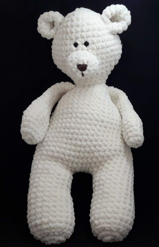 Makerist - Amigurumi – Elliott the bear - crochet - Crochet Showcase - 1