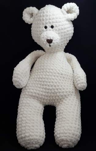 Amigurumi – Elliott the bear - crochet