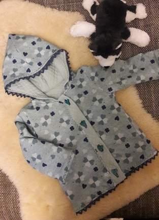 Makerist - Jacke mit Herz - 1