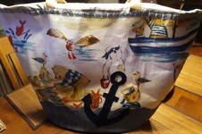 Makerist - Strandtasche aus Stoffresten - 1