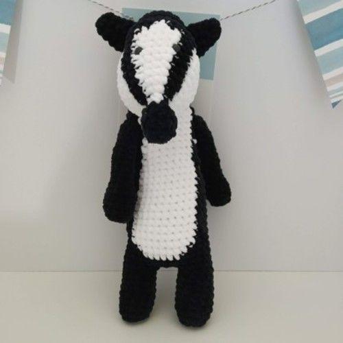 Makerist - Amigurumi Nina le blaireau - crochet – tutoriel - Créations de crochet - 1