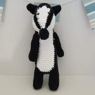 Makerist - Amigurumi Nina le blaireau - crochet – tutoriel - 1