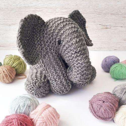 Makerist - Merino baby elephant - Knitting Showcase - 1