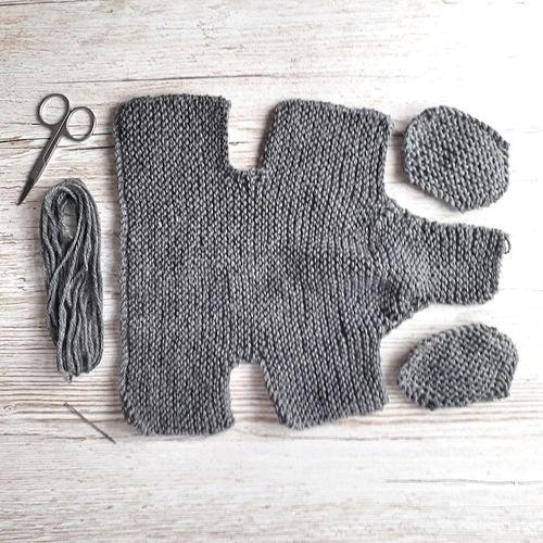 Makerist - Merino baby elephant - Knitting Showcase - 3