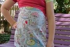 Makerist - Hula Wave von Nähpuls aus dehnbaren Stoffen für Mädchen  - 1