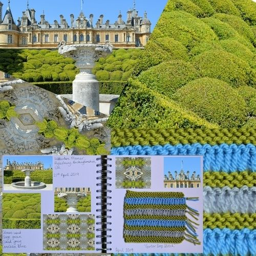 Makerist - Knitting Journal - April 2019 - Waddesdon Manor, Buckinghamshire, UK - Knitting Showcase - 1