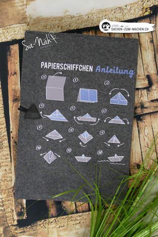 Papierschiffchen Anleitung
