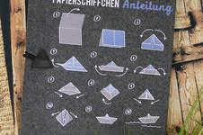 Makerist - Papierschiffchen Anleitung - 1