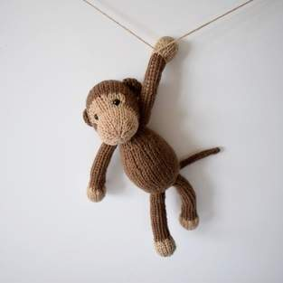 Makerist - Mick the Monkey - 1