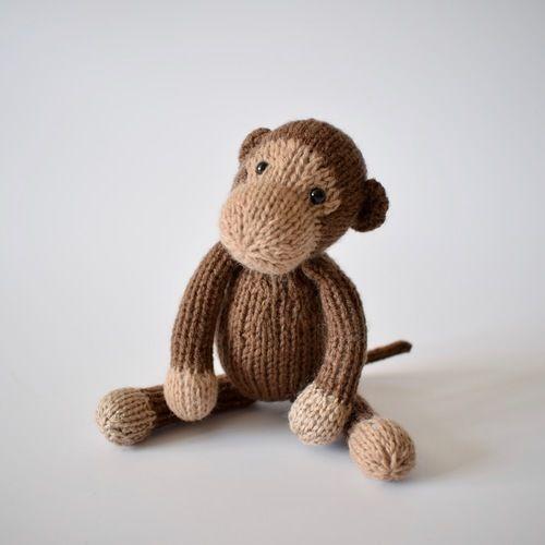 Makerist - Mick the Monkey - Knitting Showcase - 2