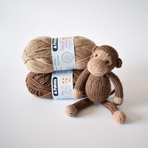 Makerist - Mick the Monkey - Knitting Showcase - 3