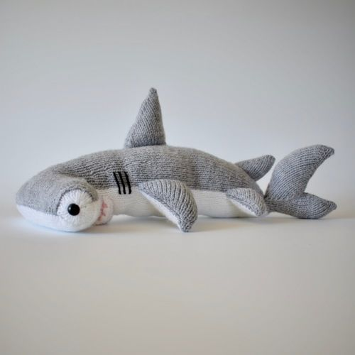 Makerist - Hammerhead Shark - Knitting Showcase - 3