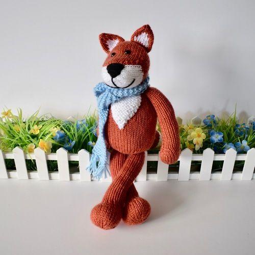 Makerist - Mr Foxington - Knitting Showcase - 1