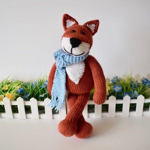Makerist - Mr Foxington - Knitting Showcase - 2