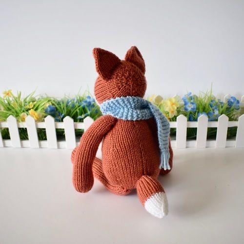 Makerist - Mr Foxington - Knitting Showcase - 3