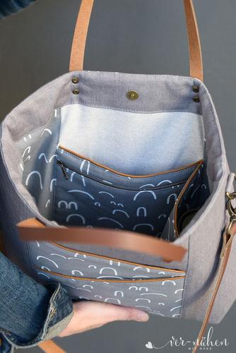 Makerist - Taniia Bag von Unikati  - Nähprojekte - 3