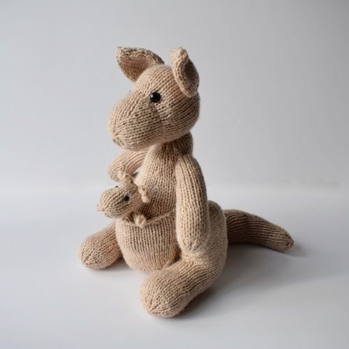 Makerist - Kangaroo toys - Knitting Showcase - 1