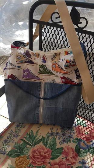 Makerist - Erstlingswerk Shopper - 1