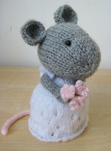 Makerist - Mr & Mrs Mouse - Knitting Showcase - 2