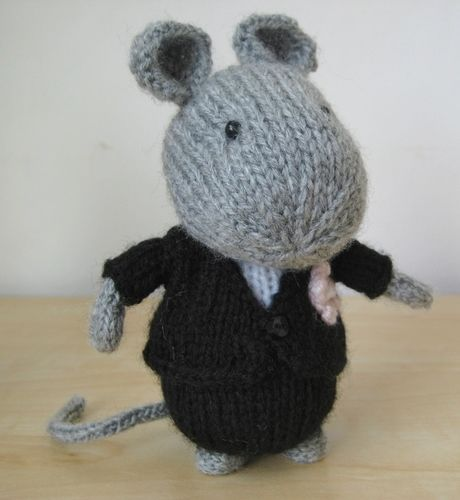Makerist - Mr & Mrs Mouse - Knitting Showcase - 3