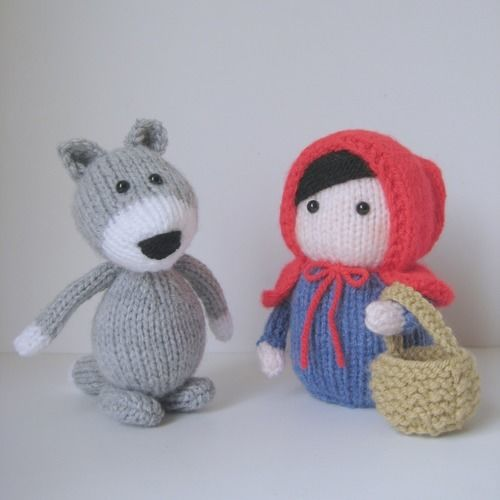 Makerist - Red Riding Hood - Knitting Showcase - 1