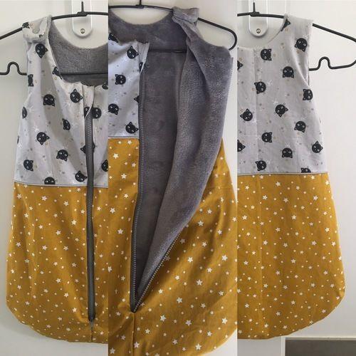 Makerist - Gigoteuse léto pour un bébé à naître - Créations de couture - 1